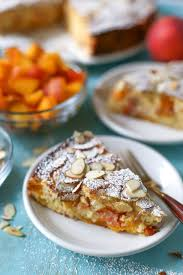 Dairy Free Peach Almond Cake Simply Whisked