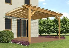 build pergola plans building a pergola attached to house maple polished finish wooden posts crossbeams rafters build pergola plans
