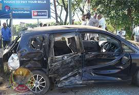Mnangagwa witnesses horrific car crash - NewZimbabwe.com