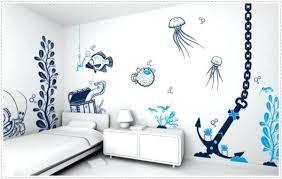 wall art ideas for bedroom white kids bedroom ocean and fish wall art bedroom wall art