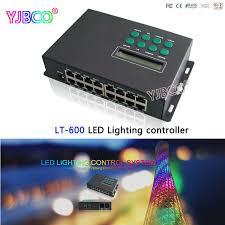 ltech led controller lt 600 led lighting control system level offline wifi