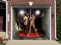 garage door murals3D Door Murals  Tune your home with garage door murals NSFW