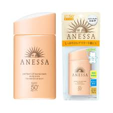 Skin Sunscreen Shiseido Uv - Mild Pa New Spf 50 Milk Anessa Japan In Perfect 60ml Sensitive Made