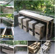 pallets outdoor furniture. view in gallery diypalletbartableandstools pallets outdoor furniture