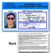 Card Pvc National Id Retired Ccp Officer