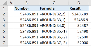 10 1 Ways To Round Numbers In Excel Free Microsoft Excel