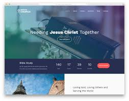 Free Templates 24 Best Free Church Website Templates 2019 Colorlib