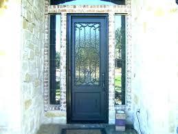 retractable screen door exterior french