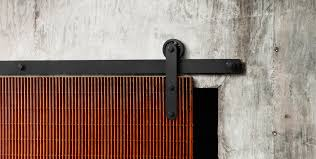 Home Design  Exterior Sliding Barn Door Track System Patio Closet - Exterior sliding door track