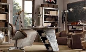 eclectic office furniture. Restoration Hardware Home Office Furniture Eclectic Decor