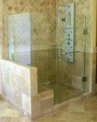 inline frameless shower enclosure frameless steam shower va steam shower door steam shower glass doors