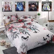 bedding set 2 family set include bed sheet duvet cover pillowcase dream catcher duvet cover set room decoration bedspread twin comforter sets king
