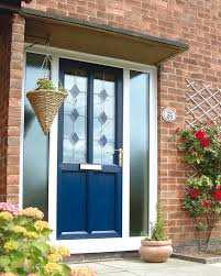 Excellent Entry Door With Lite Combined Rectangle Glazing Also ...
