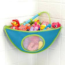 amazing bathtub toy organizer photos shower room ideas bath basket holder storage white