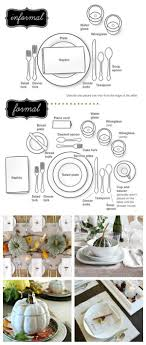 How To Set your Formal and Informal Table | Holiday tables, Formal ...