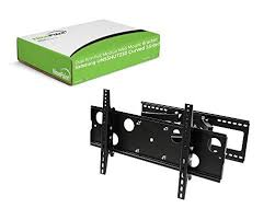 samsung curved tv wall mount. navepoint dual arm full motion wall mount bracket for samsung un55hu7250 curved 55-inch tv tv