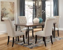 choose stylish furniture small. Dining Room : Anashley Sets For Small With Curvy Chairs, Long Tiny Table, Candle Chandelier, Leaves Painting, Flower And Patterned Loop Choose Stylish Furniture P