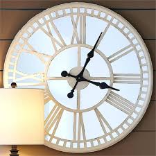 large mirror wall clock interesting mirror wall clock large mirrored mantel clock white and mirror round