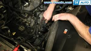 how to install replace engine serpentine belt l l v  how to install replace engine serpentine belt 4 6l 5 4l v8 2004 08 ford f150