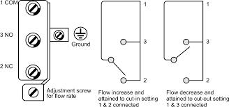air flow switch bravo controls Flow Switch Wiring Diagram air flow switch potter flow switch wiring diagram