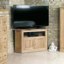 baumhaus mobel solid oak extra. Baumhaus Mobel Oak Corner Television Cabinet Solid Extra