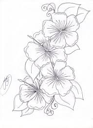 Beautiful Flower Coloring Pages Free Inside Flowers - glum.me