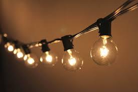 Joyin Lights Joyin Globe String Lights Set With 25 Piece G40 Bulbs For