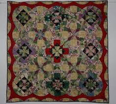 Japanese Garden quilt; pattern from 'The Caffinated Quilter'. The ... & The fabrics I used dont have the definition that is needed for this quilt,  I'll know for next time! Got third in the Perth Royal. Adamdwight.com