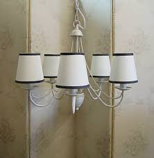 chandelier lamp shades pottery barn