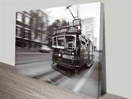 >flinders street melbourne tram wall art canvas print flinders street melbourne tram wall art print on canvas australia