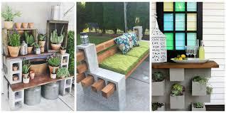 cinderblock furniture. Cinder Block Furniture Is Trending In A Big Way. Cinderblock I