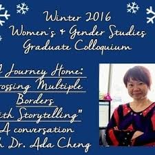 """A Journey Home: Crossing Multiple Borders with Storytelling"""" with DePaul's  very own Dr. Shu-Ju Ada Cheng - DePaul University"""