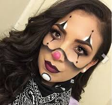 face clowns cute cool black white clown makeup for no copyright to me i