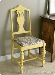 love this color of wall and chair next to it