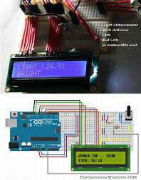 Arduino Light Meter Photography Light Measurement With Arduino Ldr And Lcd