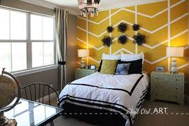 Mustard Yellow Accent Wall