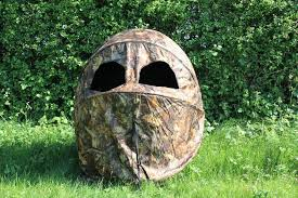 2 man shooting double hide tent blind chair camo stalking