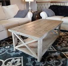 diy coffee table rustic coffee tables