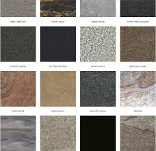 Granite Colors For Kitchen Kitchen And Bathroom Designs Tips Countertops Colors