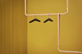 Trapeze Hanger Design Hooks Racks Designer Hooks And Hangers With Edge Bolia