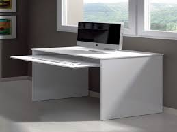 white computer desk with keyboard tray hutch and drawers grey task with small white computer desk