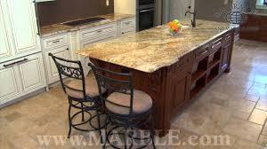 Granite In Kitchen Yellow River Granite Kitchen Countertops Marblecom Youtube