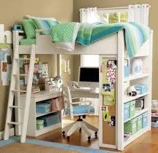 Bed on top desk on bottom 7