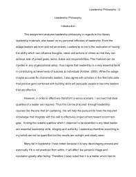 essay on leadership philosophy leadership philosophy paper philosophy of leadership proof essay sample online
