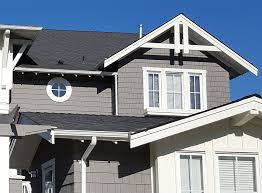 exterior colors that go with a gray roof