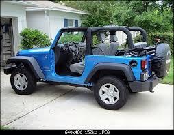 jeep wrangler no doors no top