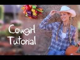 cowgirl makeup hair