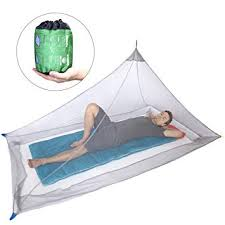 Dimples Excel Mosquito Net For Single Camping Bed 250 Per Square