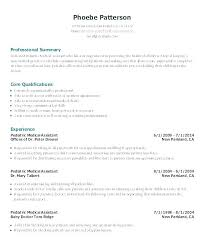 Medical Assistant Resume Templates Free Amazing Medical Assistant Resume Objective Samples Personal Assistant Resume