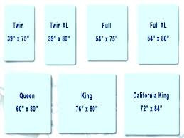 Mattress Size Comparison Chart Full Size Bed Sheet Dimensions Zerodeductible Co